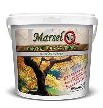 Marsel H20 Лазурен лак за дърво
