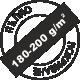Разход 180-200 грама на квадратен метър за пълно покриване