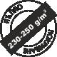 За пълно покриване 230-250 грама на квадратен метър