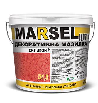Marsel Pro Декоративна мазилка силикон+