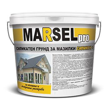 Marsel pro силикатен грунд за мазилки силикон +