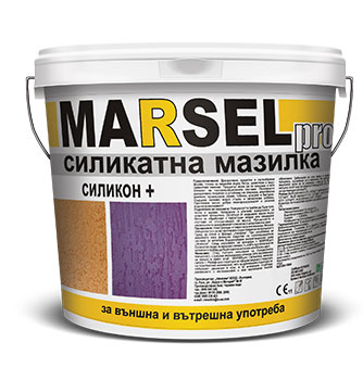 Marsel pro Силикатна мазилка силикон +