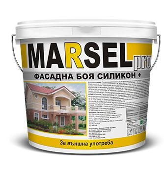 Мarsel pro Фасадна боя силикон +