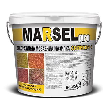 Marsel pro декоративна мозаечна мазилка силикон +