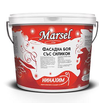 Marsel Фасадна боя със силикон