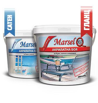 Marsel h20 Акрилатна боя за дърво, метал и пластмаса