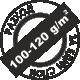 За един слой 100-120 грама на квадратен метър