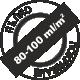 Пълно покриване 80-100 милилитра на квадратен метър
