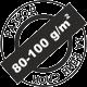 Пълно покриване 80-100 грама на квадратен метър
