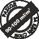 За един слой 90-100 милилитра на квадратен метър